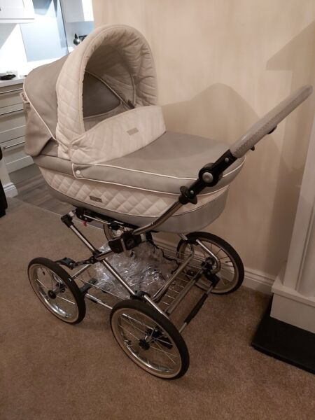 Babystyle pram pushchair car seat 3 in 1 stroller  leatherette for sale  Bishop Auckland, County Durham