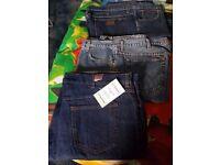"2 Wrangler jeans size 40"" waist"