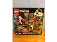 Lego Star Wars 7128 Speeder Bikes complete and boxed