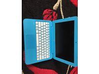 Blue HP Stream Laptop