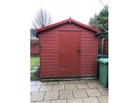 Large garden shed 14x8 foot, excellent condition