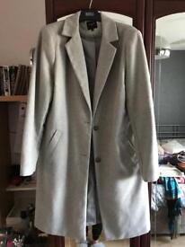Grey New Look coat