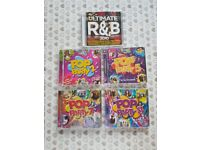 Naughties CD Compilation Album Collection - including Pop Party 2, 5, 7 & 8 + Ultimate R&B 2010