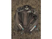 Spada motorbike jacket. CE approved elbow, shoulder and back armour