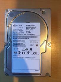Server HDD USCSI 73,4 GB