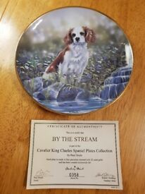 Collector's Cavalier King Charles Plates