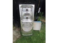 Gas cooker, grill and sink For sale