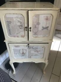 Bureau with decoupage