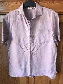 Fat face men's linen shirt size small