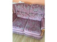 Free Sofa set of 3 **very good condition**
