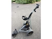 Power Golf Trolley Cost £299 New night need replacement Battery as not working