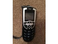 Motorola m930 hands free phone with harness and connections