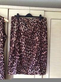 Kaleidoscope, 3 piece suit, dress, skirt, jacket