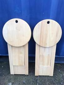 Pair of stools FREE DELIVERY PLYMOUTH AREA