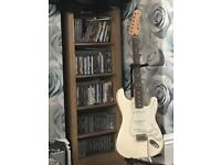 Mint condition Fender Stratocaster with fender 10g amp And cable.