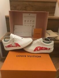 Supreme Louis Vuitton Monogram Sneaker