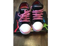 Girls Heelys Size 2 With Tools and box