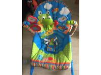 Fisherprice Rainforest Musical Baby to Toddler Chair