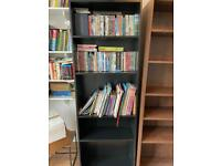 Free - black IKEA Billy bookshelf for collection