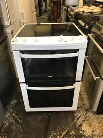 Zanussi ceramic electric cooker is 60 cm