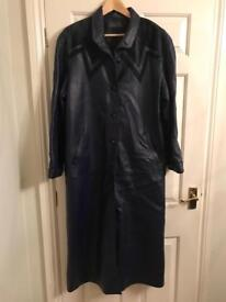 Menorcan Leather Coat Size 10 or 12