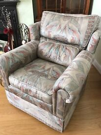 Free Derwent Armchair. well made and in good condion. to be collected.