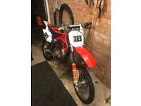 2007 Honda cr85 big wheel