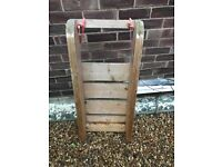 Hand made wooden sledge