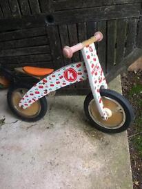 Kidimoto kurve balance bike