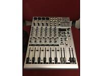 Behringer eurorack UB1204fx-pro mixer mixing desk console unit board