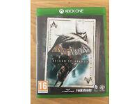 Xbox One Game - Batman Return To Arkham x2 Game Disc Set