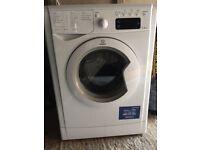 White Indesit 7kg Washing Machine with Digital Display