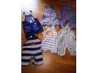 Baby boy bundle 3-6