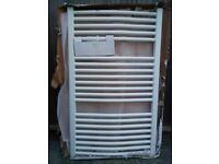 Delonghi Heated White Towel Rail Radiator H100x W600