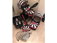 Cosatto Giggle 3-In-1 Pushchair set