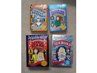 Hetty Feather books by Jacqueline Wilson