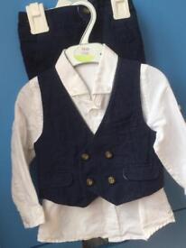 Boys M&S suit 12-18 month