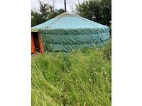 Classic Mongolian Yurt (21ft (6.6m) for sale  Somerton, Somerset