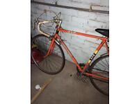 BSA racer bike Tour de France vintage