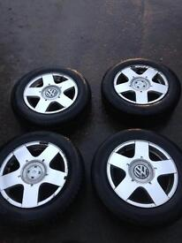 """Vw/Audi 15"""" alloys"""