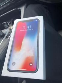 New iphone x 64gb