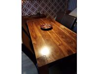 Table and chairs and matching sideboard