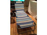 x 2 Garden Chairs/Sun Loungers
