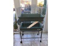 Indoor Guinea Pig/Small Rabbit cage, 2x Tier vgc