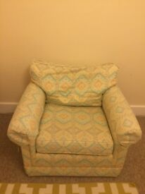 2 very comfy armchairs PO22