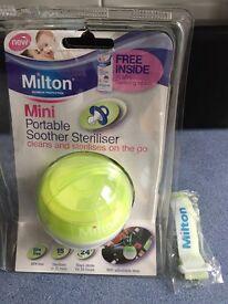 Dummy Milton portable steriliser
