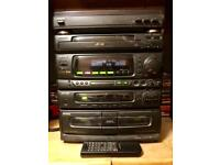 AIWA COMPACT STEREO RADIO CASSETTE CD RECORD PLAYER