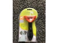 Brand New Medium Dog Deshedding Brush
