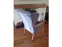 Rare vintage parker knoll chair, PK 924 solid frame, delivery options below***