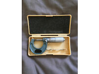 Mitutoyo Outside Micrometer Set 0-10 Moore and Wright